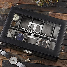Personalized watch box Dubai