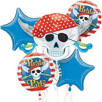 Pirate Party Balloon Bouquet - Dubai