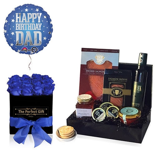 Luxury Salmon Gift Box for Dad UAE