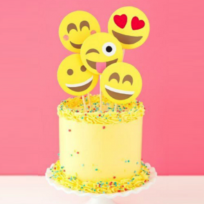 Emoji Smiley Cake Dubai