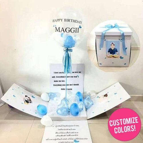 Balloon Surprise Box UAE