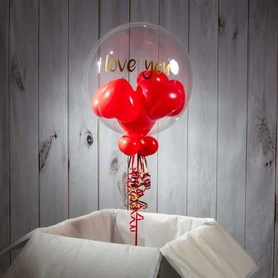 Valentine Bubble Balloon Dubai