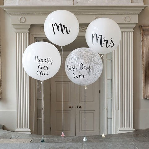 Personalized Wedding Balloons to Dubai