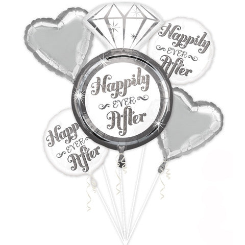 Happily Ever After Balloon Bouquet - Dubai