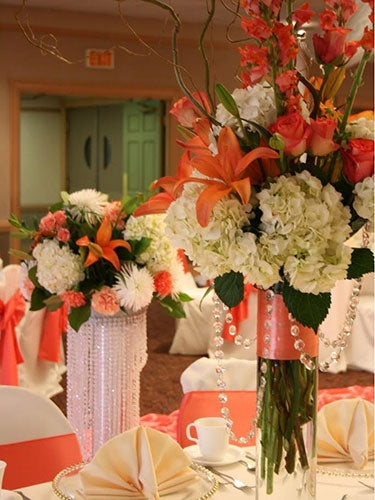 Lilies & Hydrangea Wedding Flowers Dubai