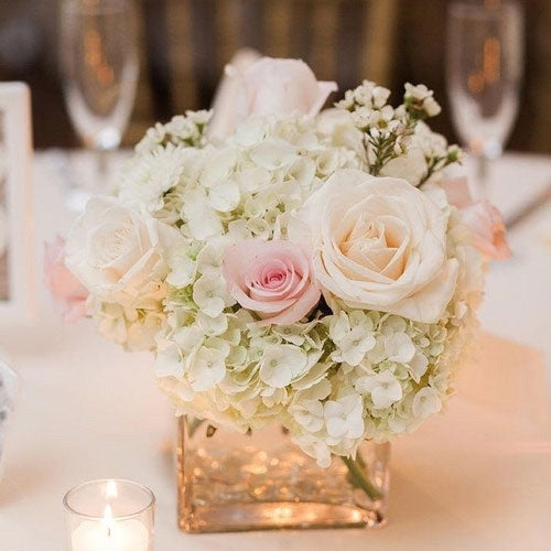 White Wedding Flowers Online Delivery Dubai