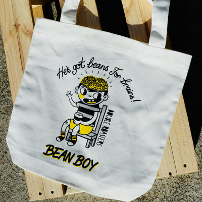Bean Boy and Bean Girl Tote Bag