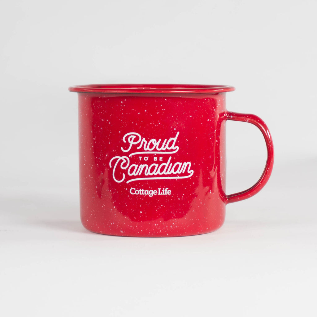Proud to be Canadian Camper Mug