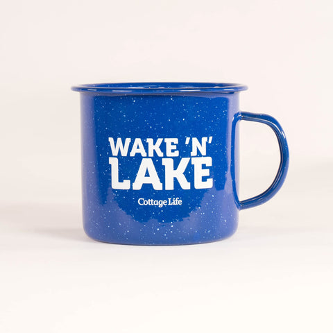 Wake 'n' Lake Camper Mug