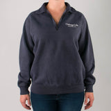 Navy 1/4 Zip Sweatshirt