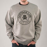 Cottage Life Crest Crewneck Sweatshirt