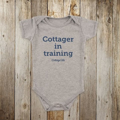 Cottager in Training Baby Onesie
