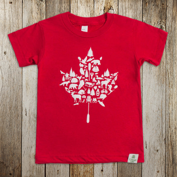 Kids Canadiana Tee