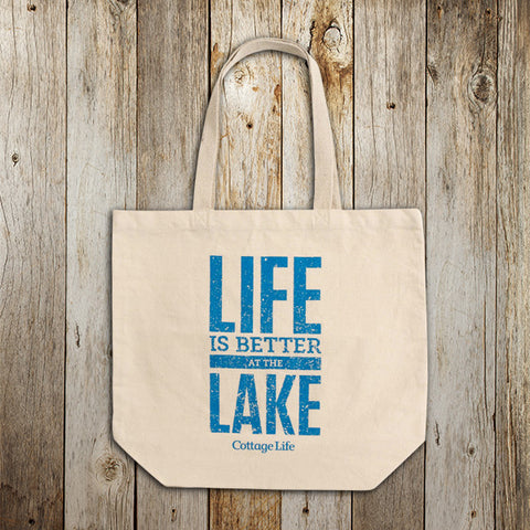 Life is Better at the Lake Tote