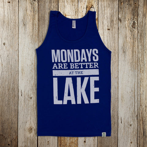 Mondays are Better at the Lake Tank
