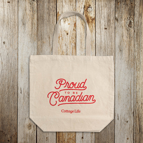 Proud to be Canadian Tote