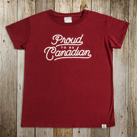 Proud to be Canadian Tee (Women's)