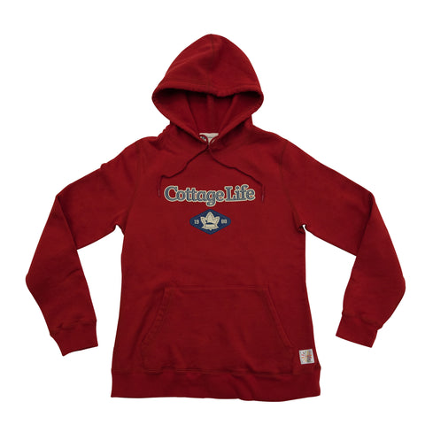 Women's Red Hoody