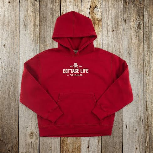 Youth Red Hoodie