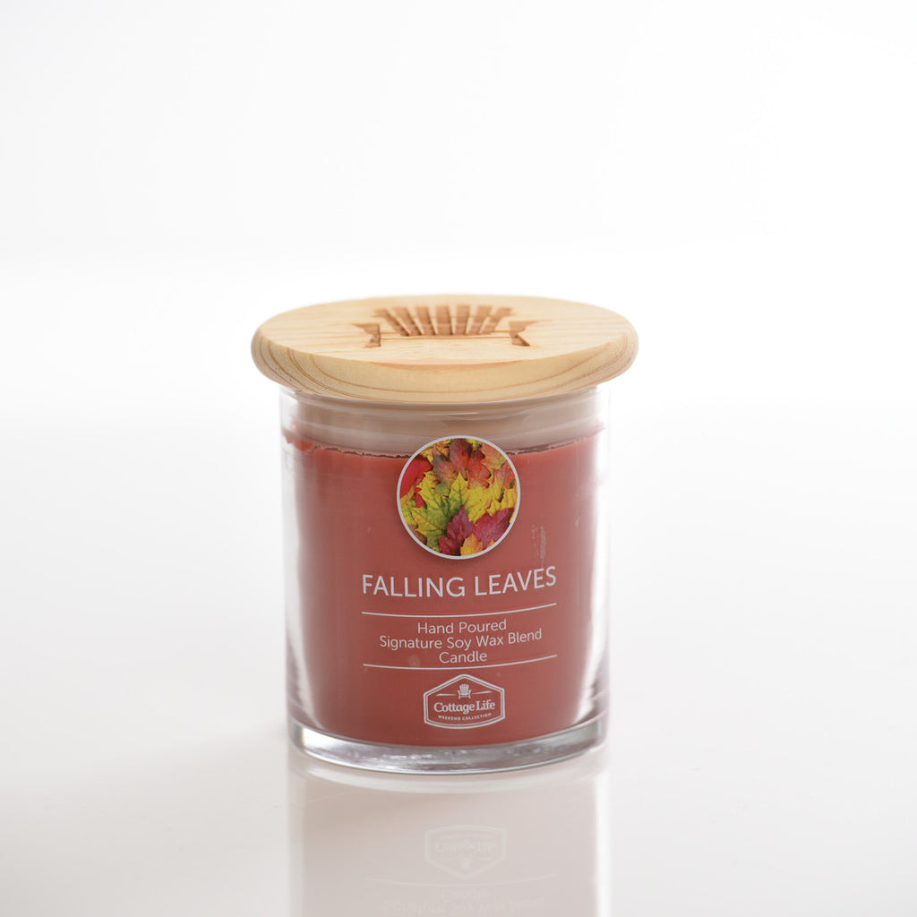 Falling Leaves Candle, 8 oz.