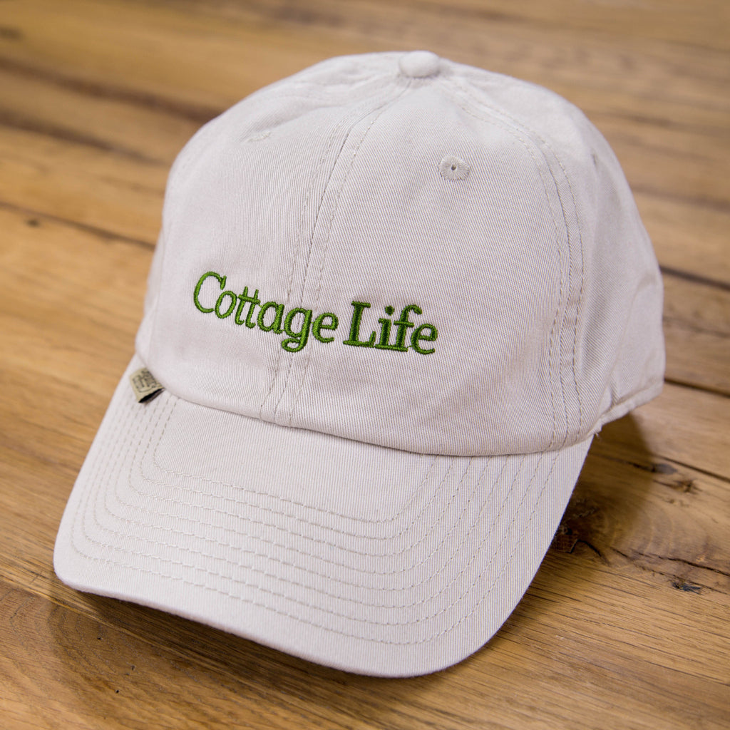 Cottage Life Organic Cotton Baseball Cap