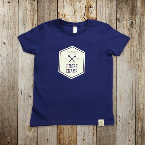 Kids' S'More Champ Tee