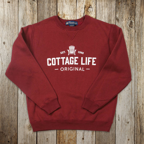 Cottage Life Original Crewneck Sweatshirt