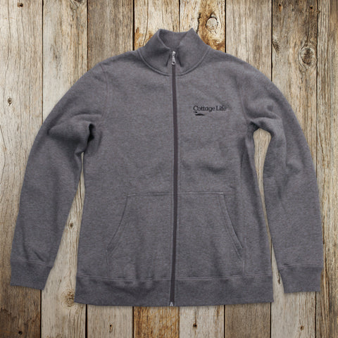 Womens Full-Zip Sweater