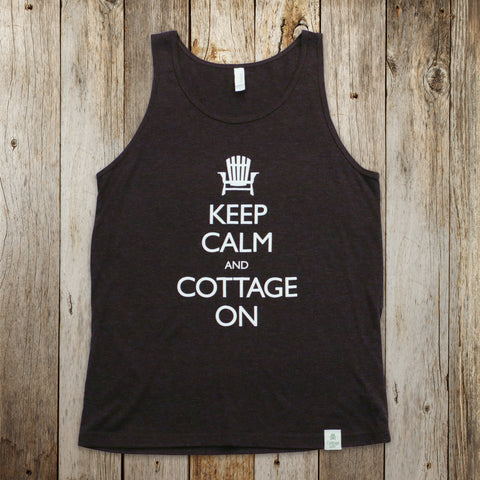 Keep Calm and Cottage On Tank