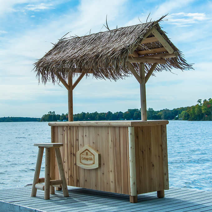 Cedar Tiki Bar Set