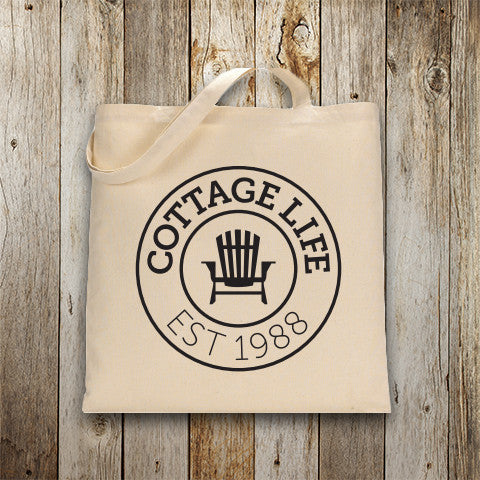 Cottage Life Original Canvas Tote