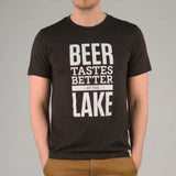 Beer Tastes Better at the Lake Tee