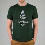 Keep Calm and Cottage On Tee