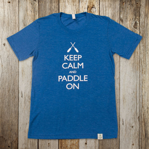 Keep Calm Paddle On Tee