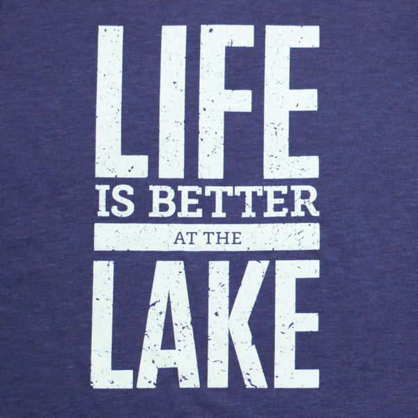 Life Is Better At The Lake Tee Cottage Life Shop