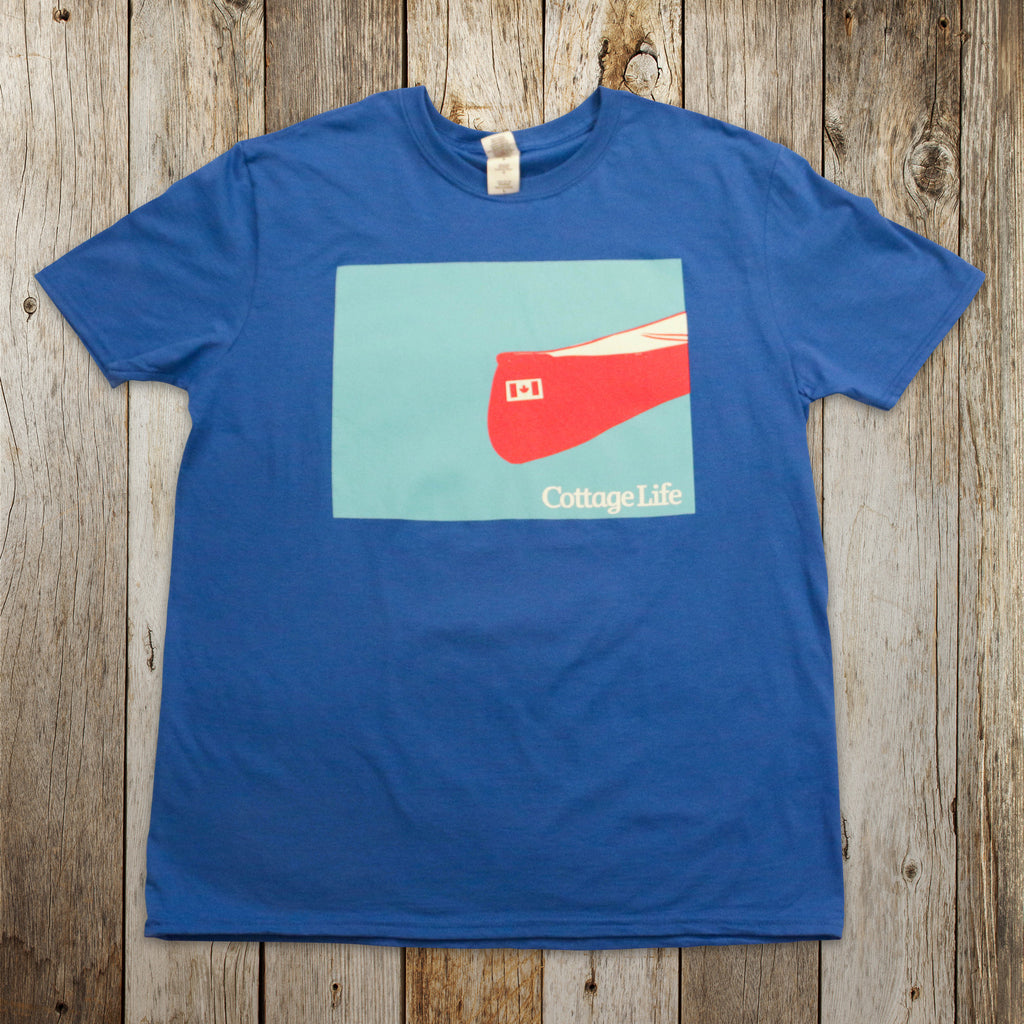 Wendy Tancock Illustrated Canoe T-Shirt