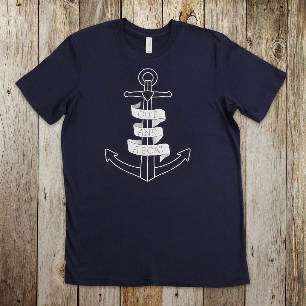 Out and a Boat Tee