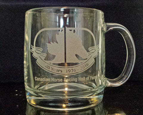 40th Anniversary Glass Mug