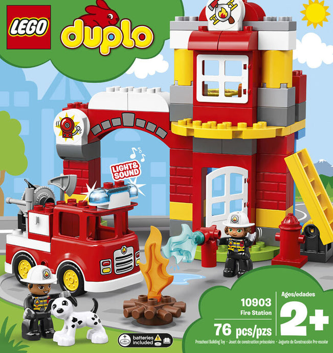 Lego Duplo Fire Station # 10903