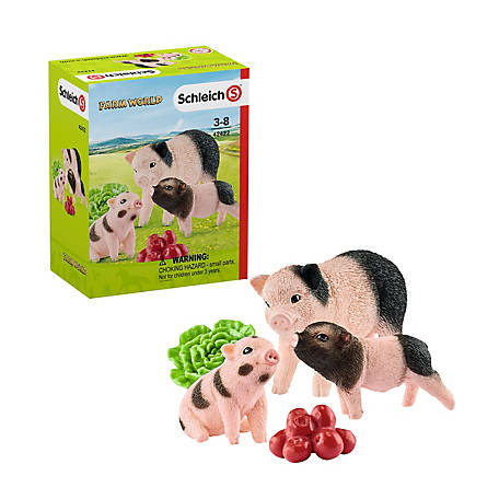 Schleich Mother Pig and Piglets