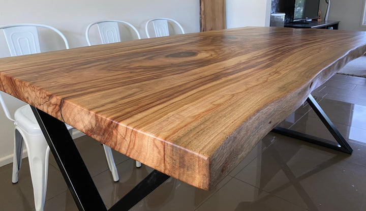 Live Edge Camphor Laurel Dining Table