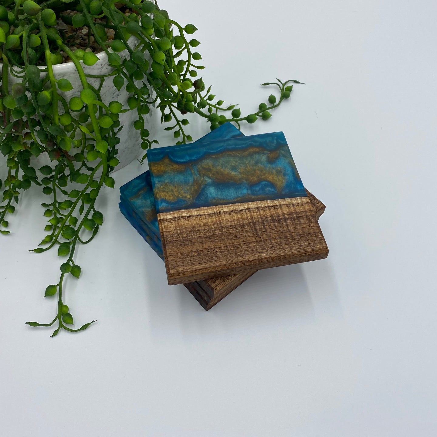 Timber & Resin Coasters | Split Design Coffs Harbour