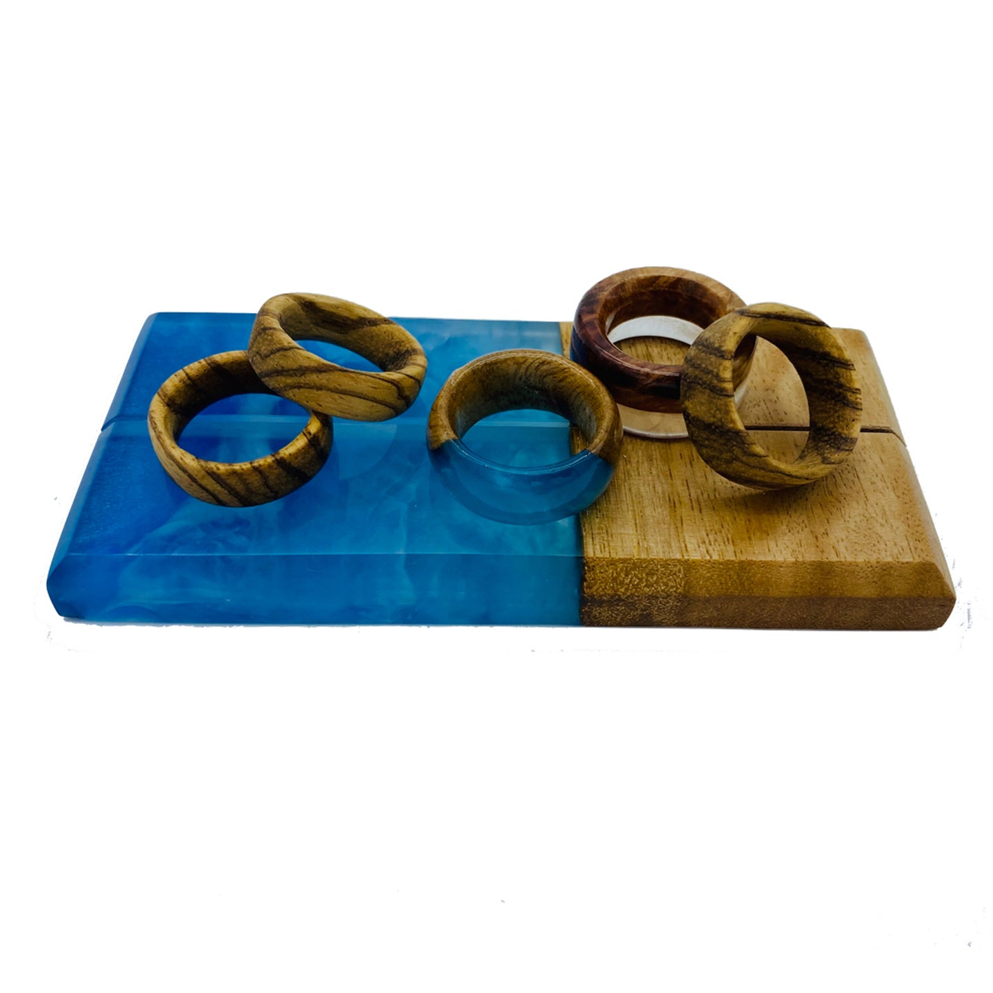 Timber & Resin Rings | Split Design Coffs Harbour