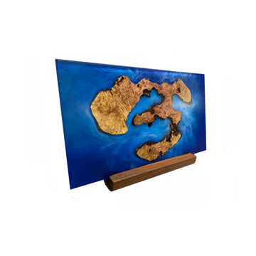 split-design-coffs-harbour-timber-resin-island-tiger-myrtle-centrepiece-art-with-stand-1