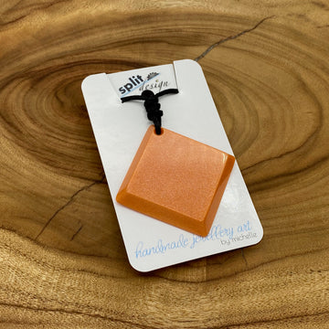 split-design-coffs-harbour-jewellery-art-orange-square-resin-pendant-necklace