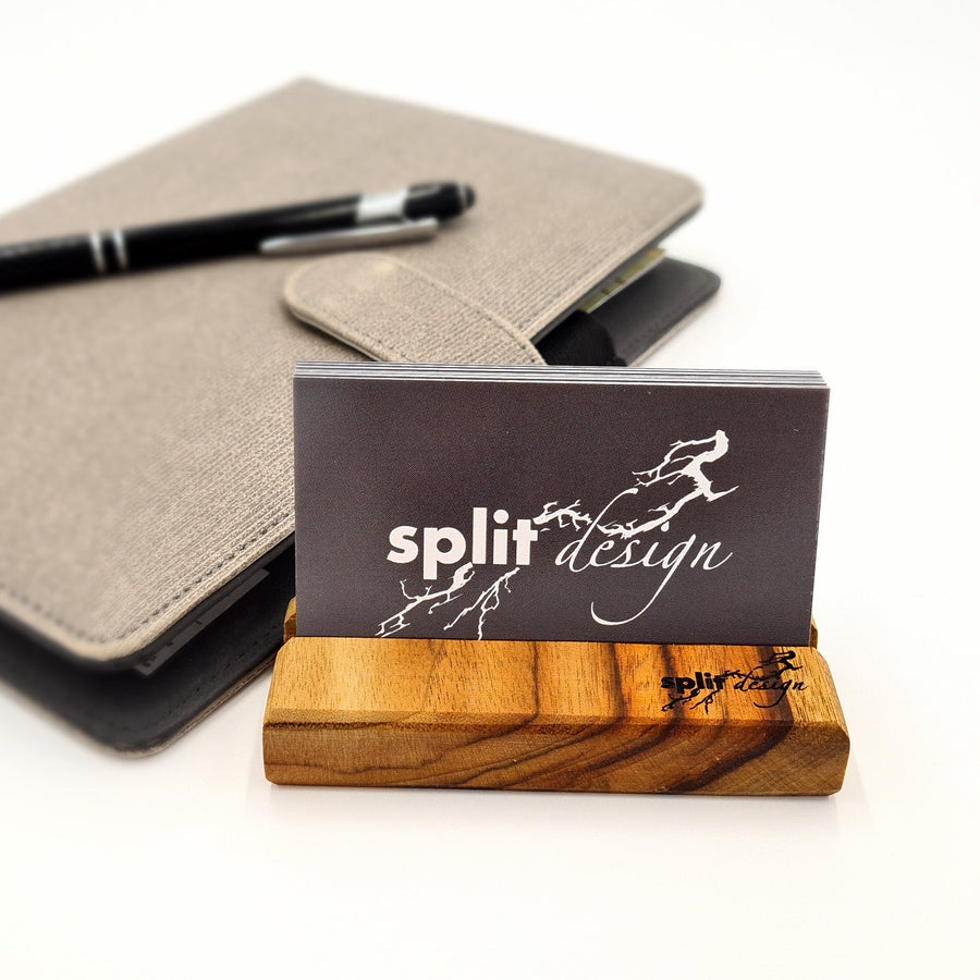 Camphor Laurel Business Card Holder