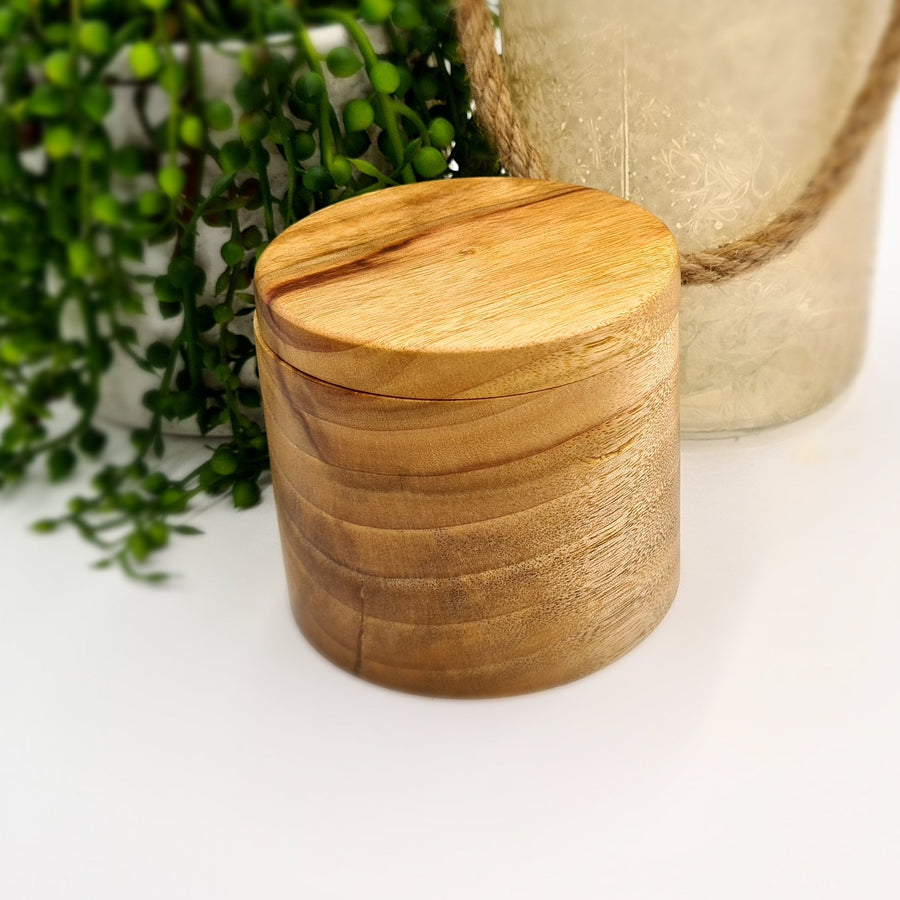 Camphor Laurel Round Trinket Box