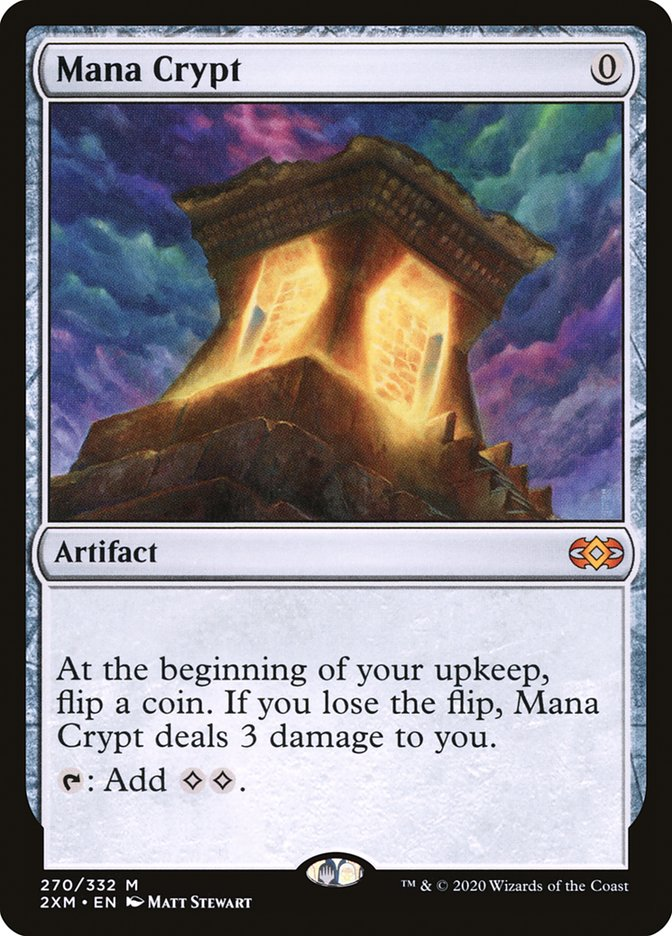 Mana Crypt [Double Masters] | Goblets and Goblins