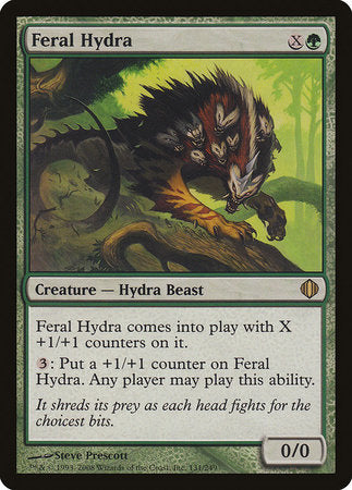 Feral Hydra [Shards of Alara] | Goblets and Goblins