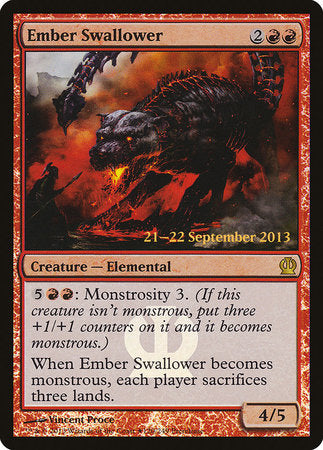 Ember Swallower [Theros Promos] | Goblets and Goblins